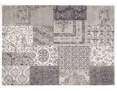 """die Faktorei Vintage-Teppich Patchwork"""" grey 170x240cm"""""""