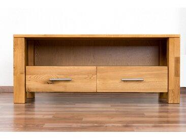 TV - Unterschrank Wooden Nature 125 Eiche massiv - 48 x 116 x 45 cm (H x B x T)