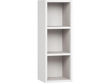 Hängeregal / Wandregal, Farbe: Weiß - Abmessungen: 90 x 32 x 30 cm (H x B x T)