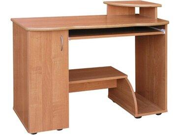 Schreibtisch Rosario 23, Farbe: Erle - 89 x 110 x 51 cm (H x B x T)