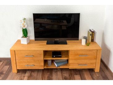 TV - Unterschrank Wooden Nature 126 Kernbuche massiv - 48 x 160 x 40 cm (H x B x T)