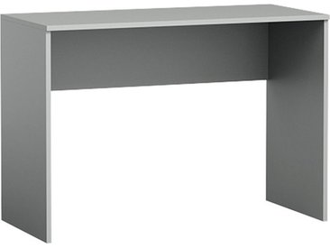 Jugendzimmer - Schreibtisch Olaf 08, Farbe: Anthrazit - 78 x 110 x 50 cm (H x B x T)