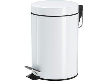 KHG Kosmetikeimer 3 l - weiß - Aluminium - Möbel-Kraft