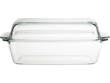 Auflaufform eckig - transparent/klar - Glas - 20,3 cm - 13,2 cm - Möbel-Kraft
