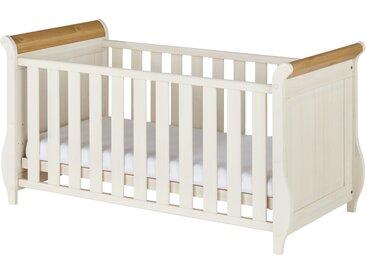Babybett - weiß - 75 cm - 84 cm - Möbel-Kraft