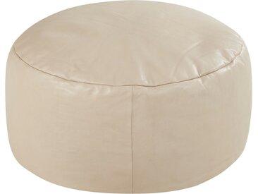 Gray & Jones Sitzpouf - beige - 30 cm - Möbel-Kraft