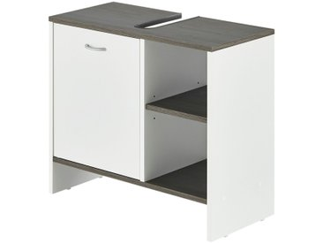 uno Waschbeckenunterschrank - weiß - 60 cm - 55 cm - 28 cm - Möbel-Kraft