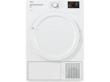 BEKO Wärmepumpentrockner  DPS 7405 W3 - weiß - Metall, Kunststoff - 59,5 cm - 84,6 cm - 54 cm - Möbel-Kraft