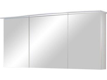 calmo Spiegelschrank  Ranna - weiß - 150 cm - 72 cm - 17 cm - Möbel-Kraft