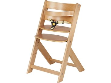 Schardt Treppenhochstuhl  Domino - holzfarben - Buche massiv - Möbel-Kraft