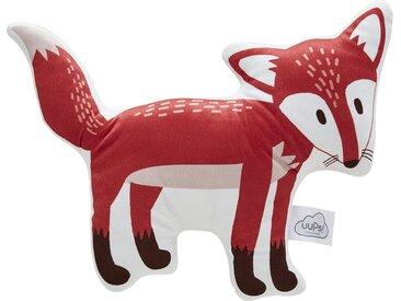 Uups Formkissen   Fuchs - rot - Bezug: 100% Baumwolle, Fülliung: 100% Polyester - 45 cm - Möbel-Kraft