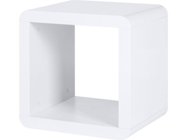 Regalwürfel - weiß - 43 cm - 43 cm - 35 cm - Möbel-Kraft