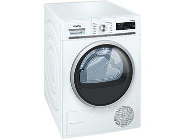 SIEMENS Wärmepumpentrockner  WT 47 W 5W0 - weiß - Metall-lackiert, Kunststoff, Glas - 59,8 cm - 84,2 cm - 65,2 cm - Möbel-Kraft