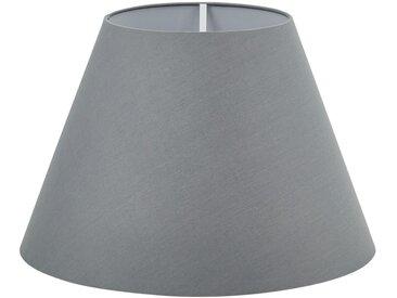 for friends Lampenschirm für Stehleuchtenfuß - grau - 28 cm - Möbel-Kraft