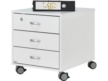 PAIDI Rollcontainer - weiß - 44,4 cm - 51,2 cm - 54,7 cm - Möbel-Kraft