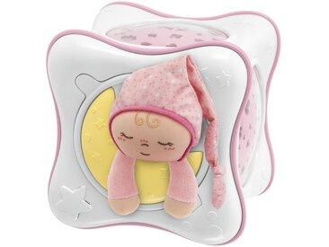 Chicco Nachtlicht mit Musik   Regenbogenprojektor - rosa/pink - Plüsch: 100% Polyester , Gehäuse aus Kunststoff - 15 cm - 15 cm - 14 cm - Möbel-Kraft