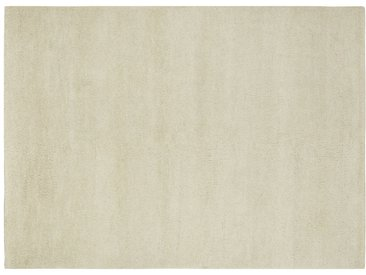 Berber-Teppich - creme - reine Wolle, Wolle - 140 cm - Möbel-Kraft