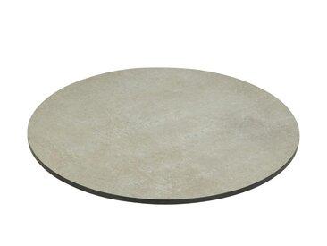 Zebra Drehplatte   Oryx Edge  zum Tisch Oryx Edge - grau - Möbel-Kraft