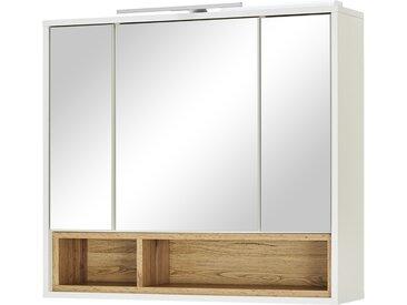Spiegelschrank - weiß - 80 cm - 72 cm - 20 cm - Möbel-Kraft