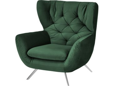 pop Hochlehnsessel - grün - 100 cm - 106 cm - 95 cm - Möbel-Kraft