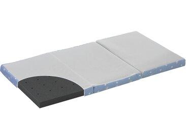 Alvi Reisebettmatratze  Luftikus - blau - Matratzenkern: Polyätherschaum , Bezug Oberseite: Abstandsgewirke mit 3D-Wabenstruktur (100% Polyester), Bezug Unterseite: 100% Baumwolle, Tragetasche: 100% Polyester - 60 cm - Möbel-Kraft