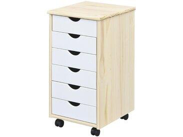 Rollcontainer - holzfarben - 35 cm - 65 cm - 40 cm - Möbel-Kraft