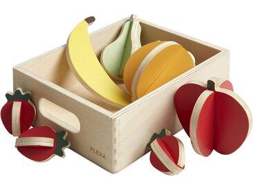 FLEXA Obst  The Shop - mehrfarbig - Birke massiv , Oberfläche lackiert mit umweltfreundlichen wasserbasierten Lacken - Möbel-Kraft