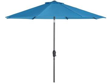 Sonnenschirm - blau - Möbel-Kraft