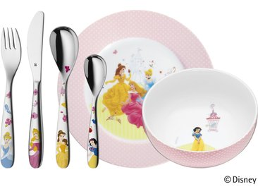 WMF Kindergeschirr, 6-teilig  Princess - mehrfarbig - Porzellan, Edelstahl - Möbel-Kraft
