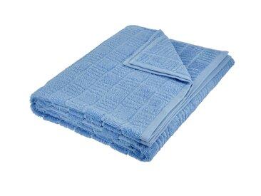 VOSSEN Saunatuch  Talis - blau - 100% Baumwolle - Möbel-Kraft