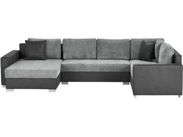 smart Wohnlandschaft - grau - 320 cm - 212 cm - Möbel-Kraft