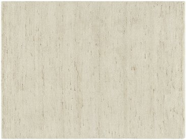 Berber-Teppich - creme - Wolle, 100% Wolle - 140 cm - Möbel-Kraft