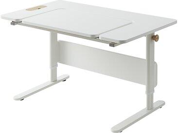 FLEXA Schülerschreibtisch  Moby - weiß - 120 cm - 59 cm - 70 cm - Möbel-Kraft
