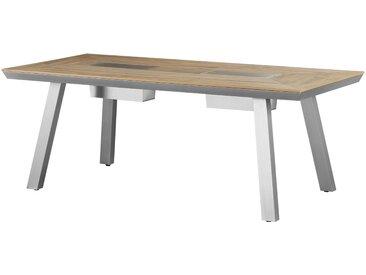 a casa mia Tisch - holzfarben - 93 cm - 75 cm - Möbel-Kraft