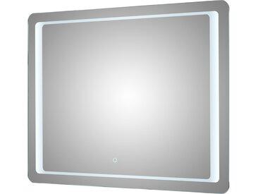 LED-Badspiegel - verspiegelt - 90 cm - 70 cm - 3 cm - Möbel-Kraft
