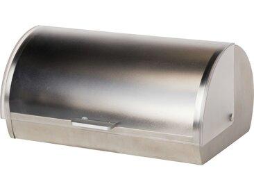KHG Brotkasten - transparent/klar - Kunststoff, Edelstahl - 39 cm - 18,5 cm - 25,5 cm - Möbel-Kraft