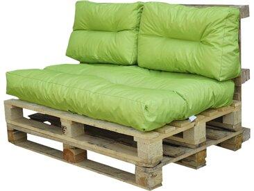 Palettenkissen-Set - grün - Möbel-Kraft