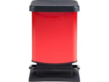 Rotho Treteimer 20 l Rot  Paso - rot - Kunststoff - 26,6 cm - 45,7 cm - Möbel-Kraft