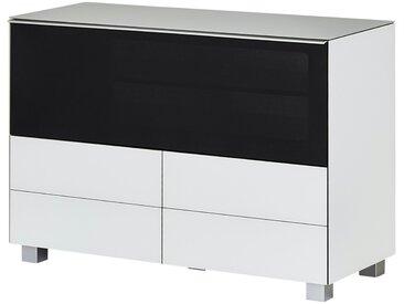 Soundboard  Soundbase High - weiß - 114 cm - 77 cm - 42 cm - Möbel-Kraft