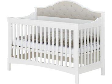Babybett - weiß - 75 cm - 121 cm - 75 cm - Möbel-Kraft
