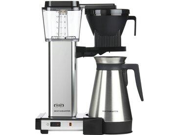 Moccamaster Thermo-Kaffeeautomat  KBGT-Thermos Polished - silber - Metall-lackiert, Edelstahl, Kunststoff - 33 cm - 41 cm - 17 cm - Möbel-Kraft