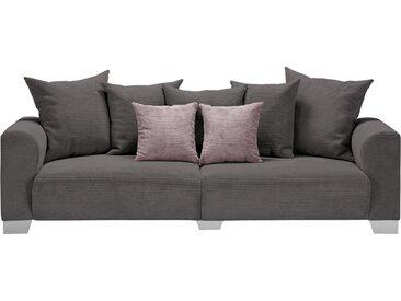 smart Big Sofa - grau - 244 cm - 68 cm - 107 cm - Möbel-Kraft