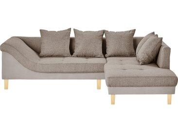 smart Ecksofa - beige - 86 cm - Möbel-Kraft