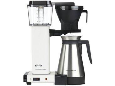 Moccamaster Thermo-Kaffeeautomat  KBGT-Thermos Off-White - weiß - Metall-lackiert, Edelstahl, Kunststoff - 33 cm - 41 cm - 17 cm - Möbel-Kraft