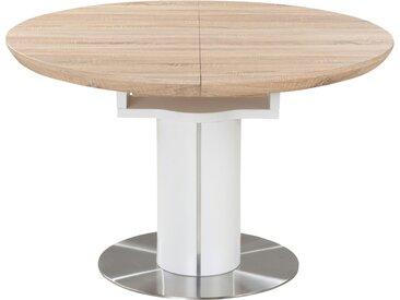 Esstisch ausziehbar - holzfarben - 76 cm - Möbel-Kraft