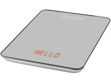 Meisterkoch Küchenwaage - silber - Kunststoff - 15,9 cm - 1,9 cm - Möbel-Kraft
