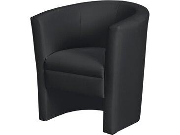 Cocktailsessel - schwarz - 73 cm - 78 cm - 60 cm - Möbel-Kraft