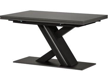 Berger & Rath Säulentisch ausziehbar  Trix - grau - Möbel-Kraft