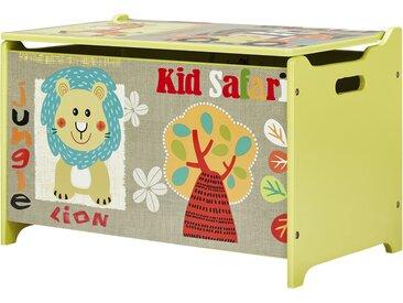 Spielzeugtruhe  Safari - mehrfarbig - Möbel-Kraft