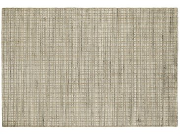 Nepal Teppich - beige - Wolle, Viskose, 80% Viskose, 20% Wolle - 200 cm - Möbel-Kraft